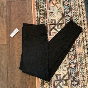 Loft | Dark Grey High Rise Leggings NWT